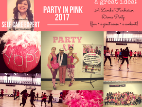 Healthy Pink Themed Dance Party Fundraiser