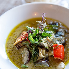 Rich Herb Infused Green Curry
