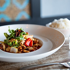 Chicken + Cashew Nut Chilli Jam Stir Fry