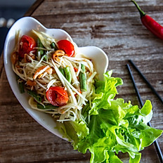 Green Papaya and Dried Shrimp Salad