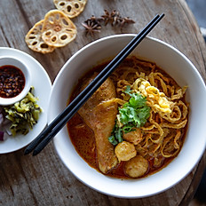 """Kao Soi"" Northern Thai Curried Noodle"