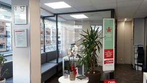 Rénovation de l'agence immobilière ORPI à Nice