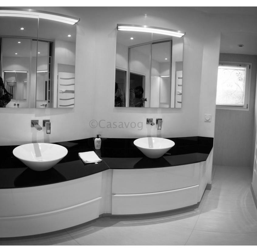 Rénovation d'une salle d'eau.