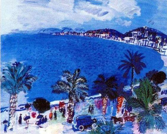 La Baie des Anges vue par Raoul Dufy - 1929