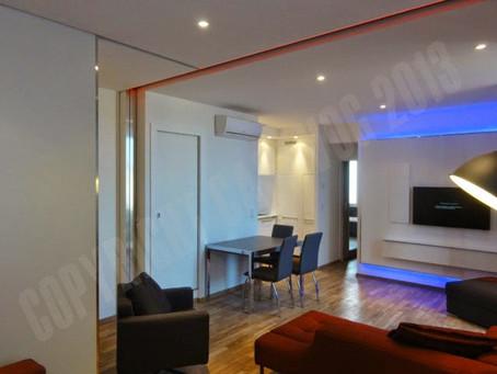 Rénovation d'un appartement à Cap d'ail
