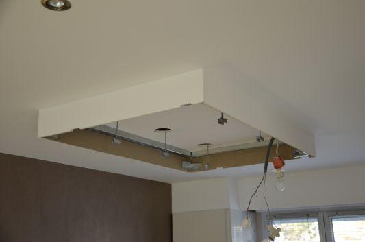 Détail technique d'un faux-plafond