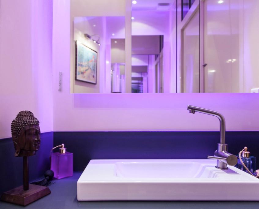 Cabinet de toilettes.