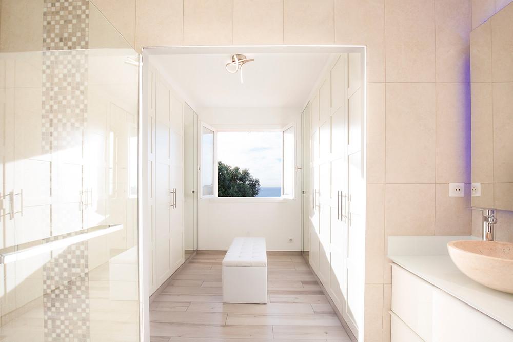 Suite parentale - salle de bains et dressing