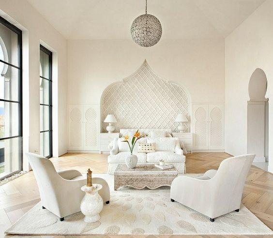 Table de salon - Inspiration orientale