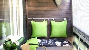 Au printemps, j'aménage mon balcon...