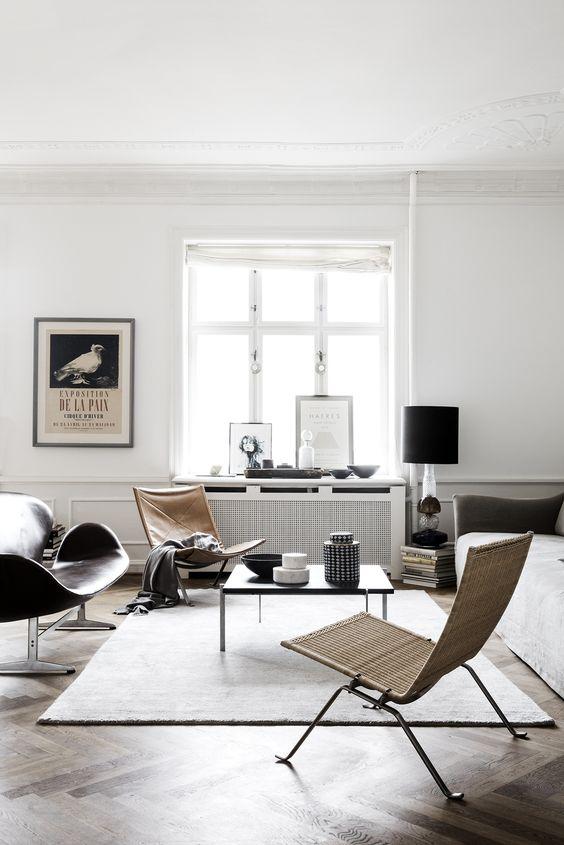 La simplicité et du style, voilà les tendances.