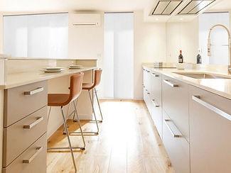 Cuisine haut-de-gamme conception par un architecte niçois
