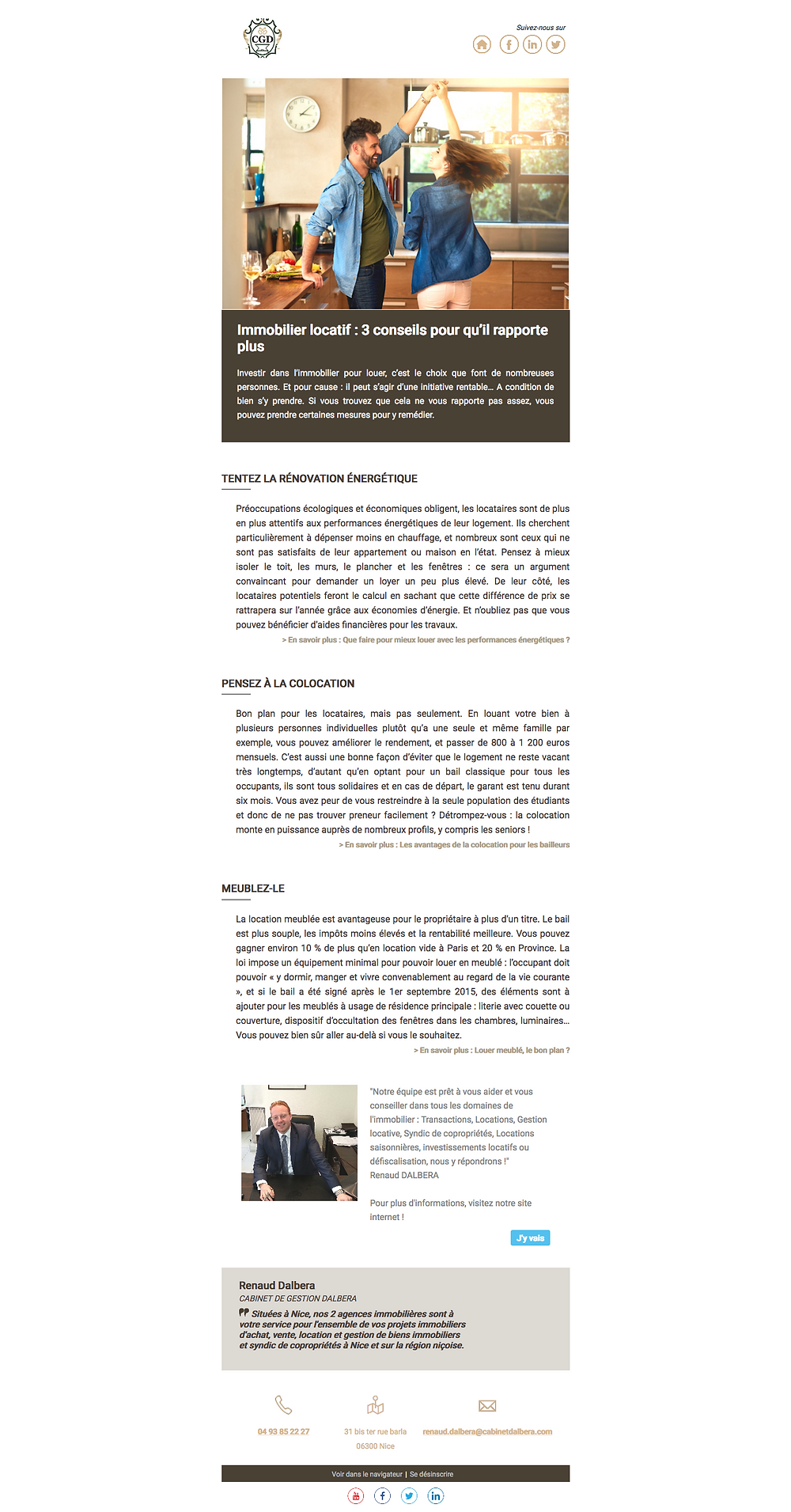 immobilier locatif - colocation -