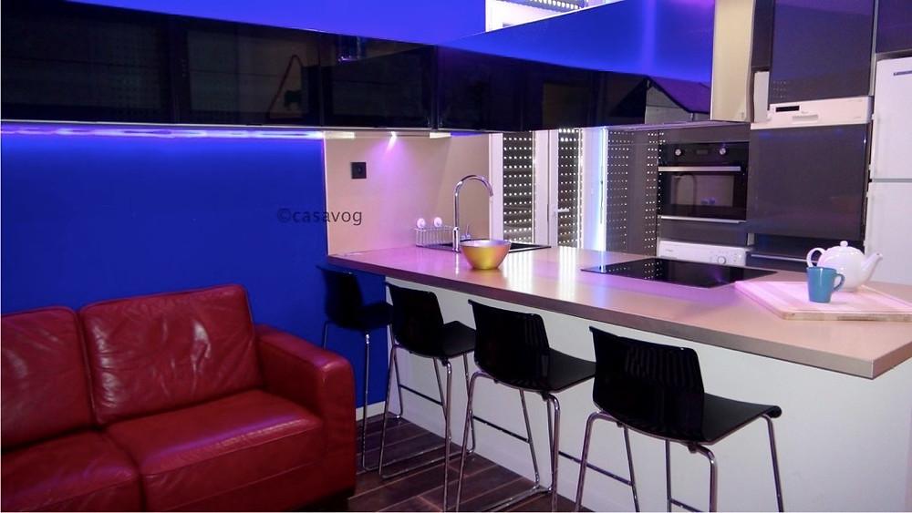 appartement conçu et rénové par Casavog