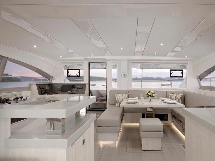 Yacht interior Photography