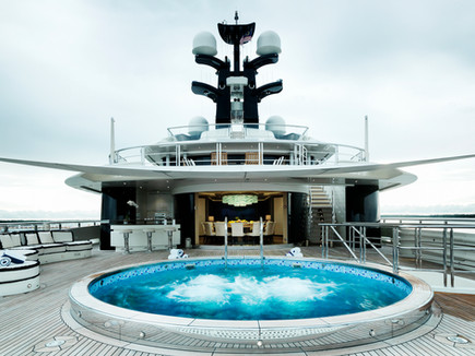 Tranquility Megayacht photoshoot in Malaysia.