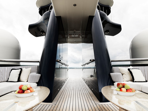 Tranquility Superyacht photography