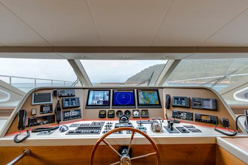 MyKonos yacht exterior photography