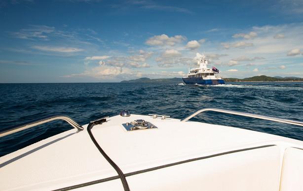 Yacht Activity photography