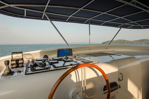 Azul yacht exterior photography