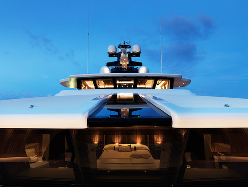 Tranquility superyacht exterior photography