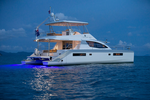 Leopard 51 yacht photography