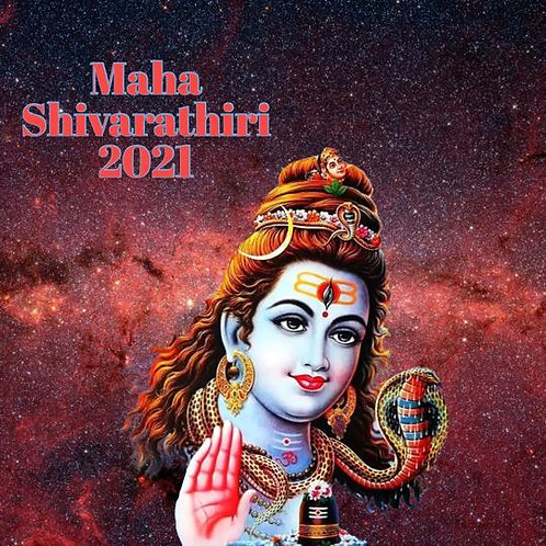 Shivarathiri Celebration - 8 Kala Pooja