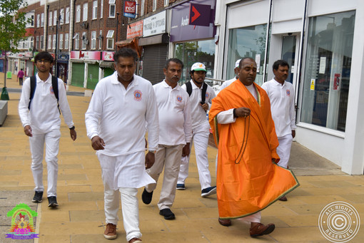 Babaji's Walk for the NHS