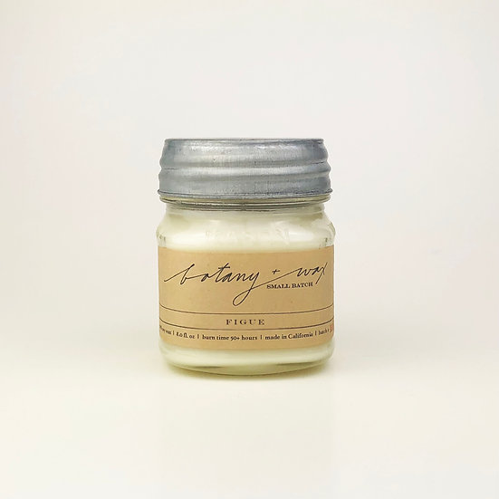 Figue 8oz Mason Soy Candle
