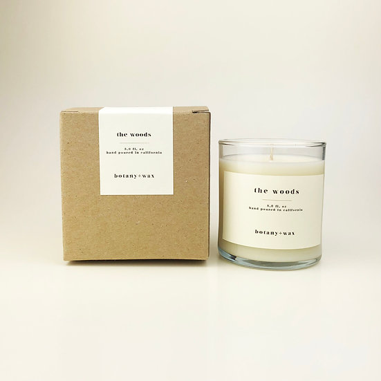 The Woods 8oz. Tumbler Soy Candle