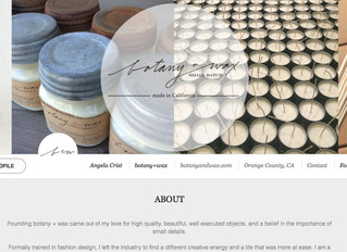 botany+wax now on SKUE wholesale