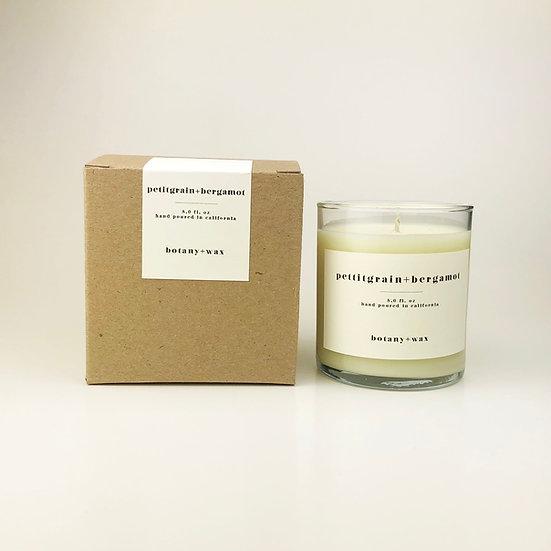 Petitgrain + Bergamot  8oz. Tumbler Soy Candle