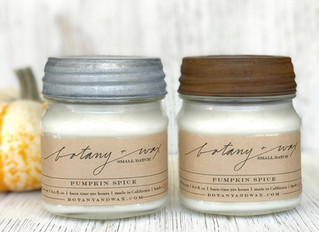 Holiday Scents Now Available