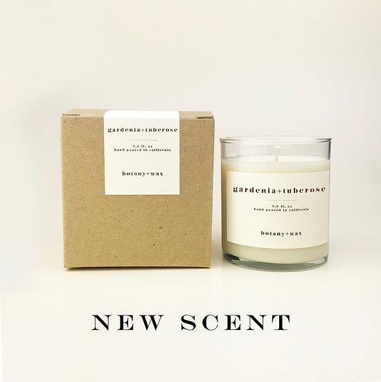 Gardenia + Tuberose 8oz Tumbler Soy Candle