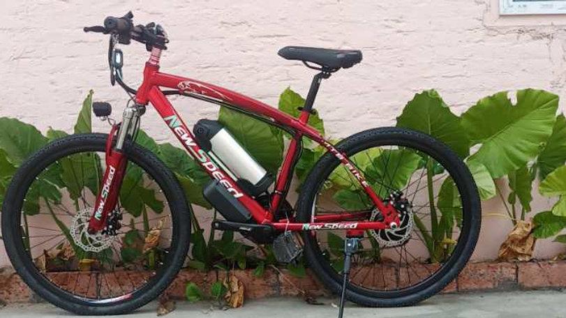 Newspeed Red Electric Bike