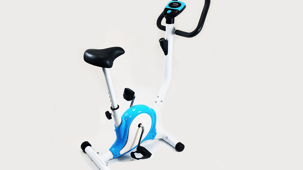 Model Z Exercise Bike - Teardrop Blue/White