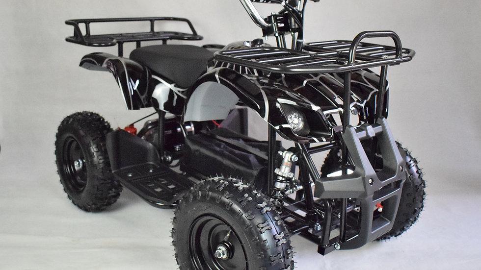 The Land Master 500 - Electric Mini ATV - Black