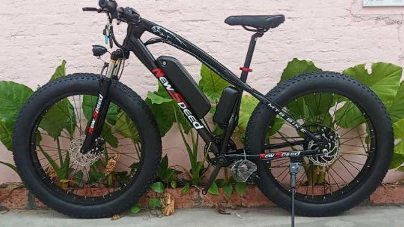 Newspeed Black Electric Bike