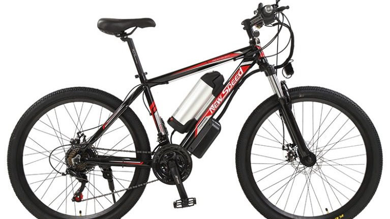 Newspeed Red-Black Electric Bike