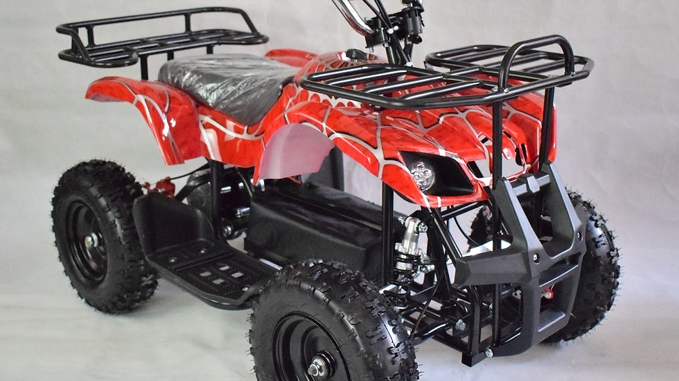 The Land Master 500 - Electric Mini ATV - Red