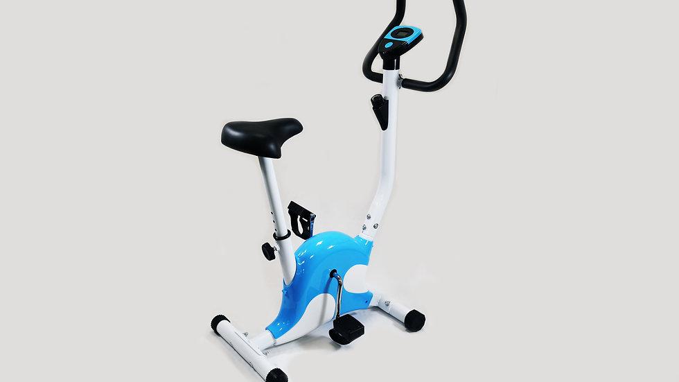 Model X Exercise Bike - Blue/White