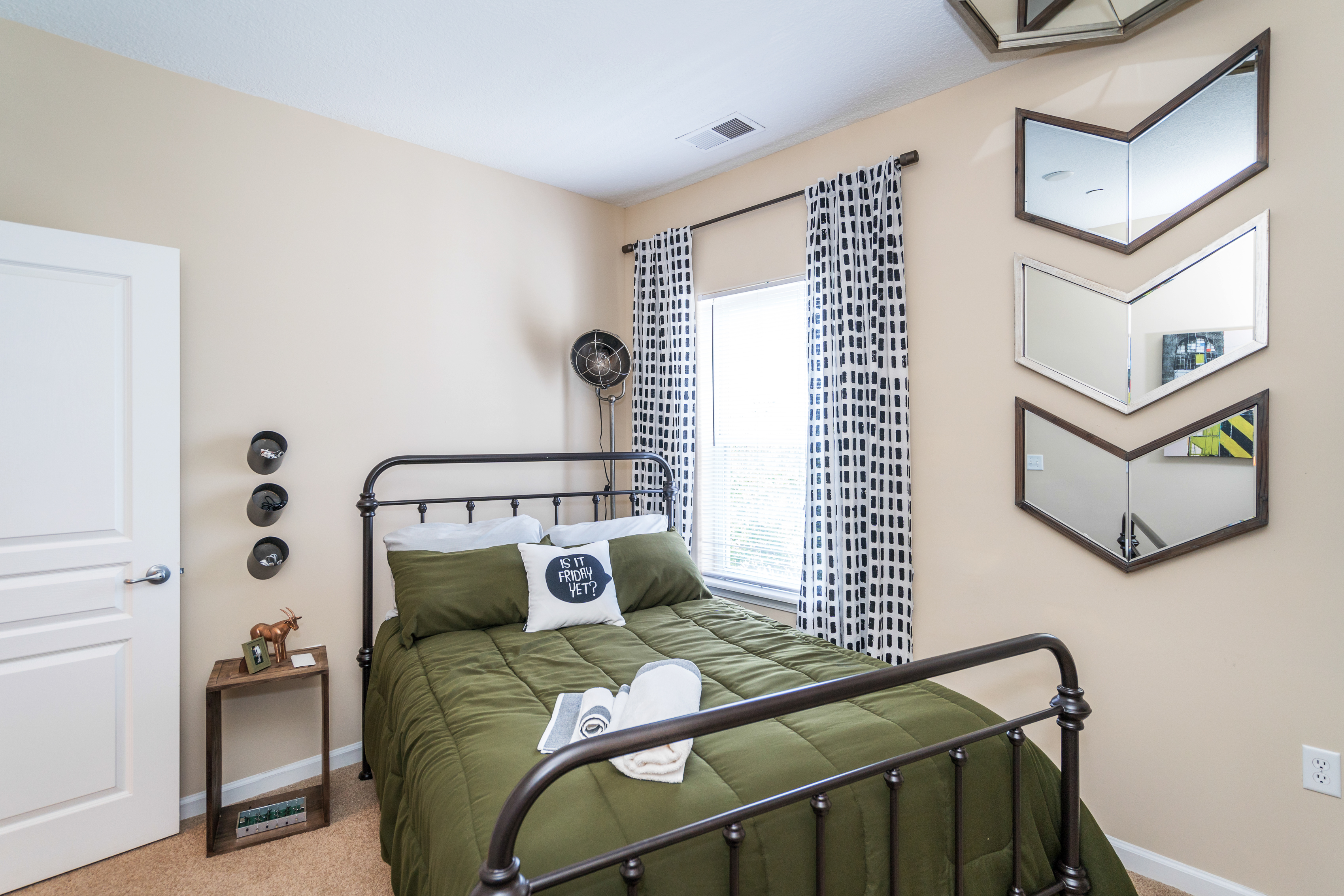 Meridian - Staged Model Unit - Guest Room