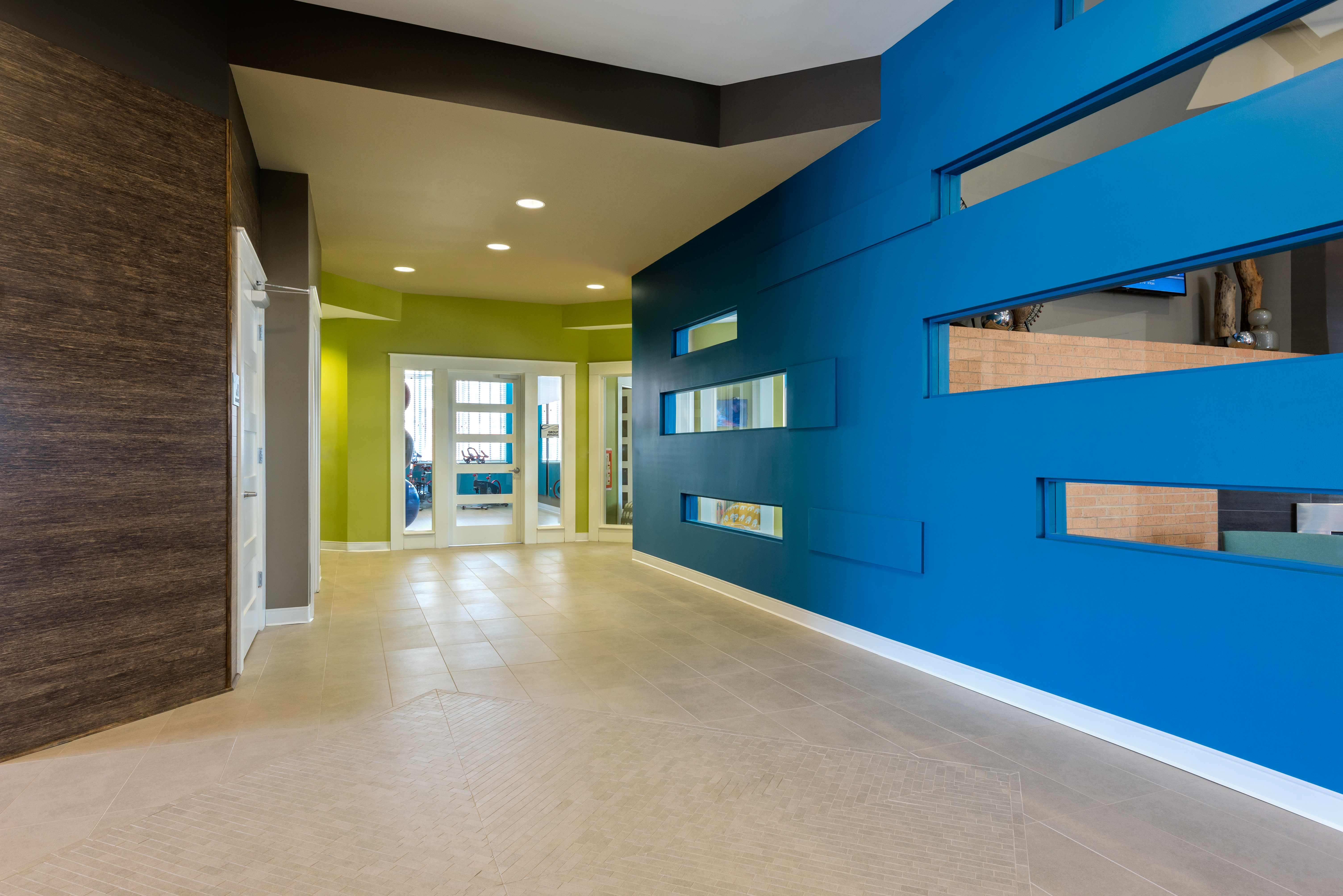 Clubhouse Hallway
