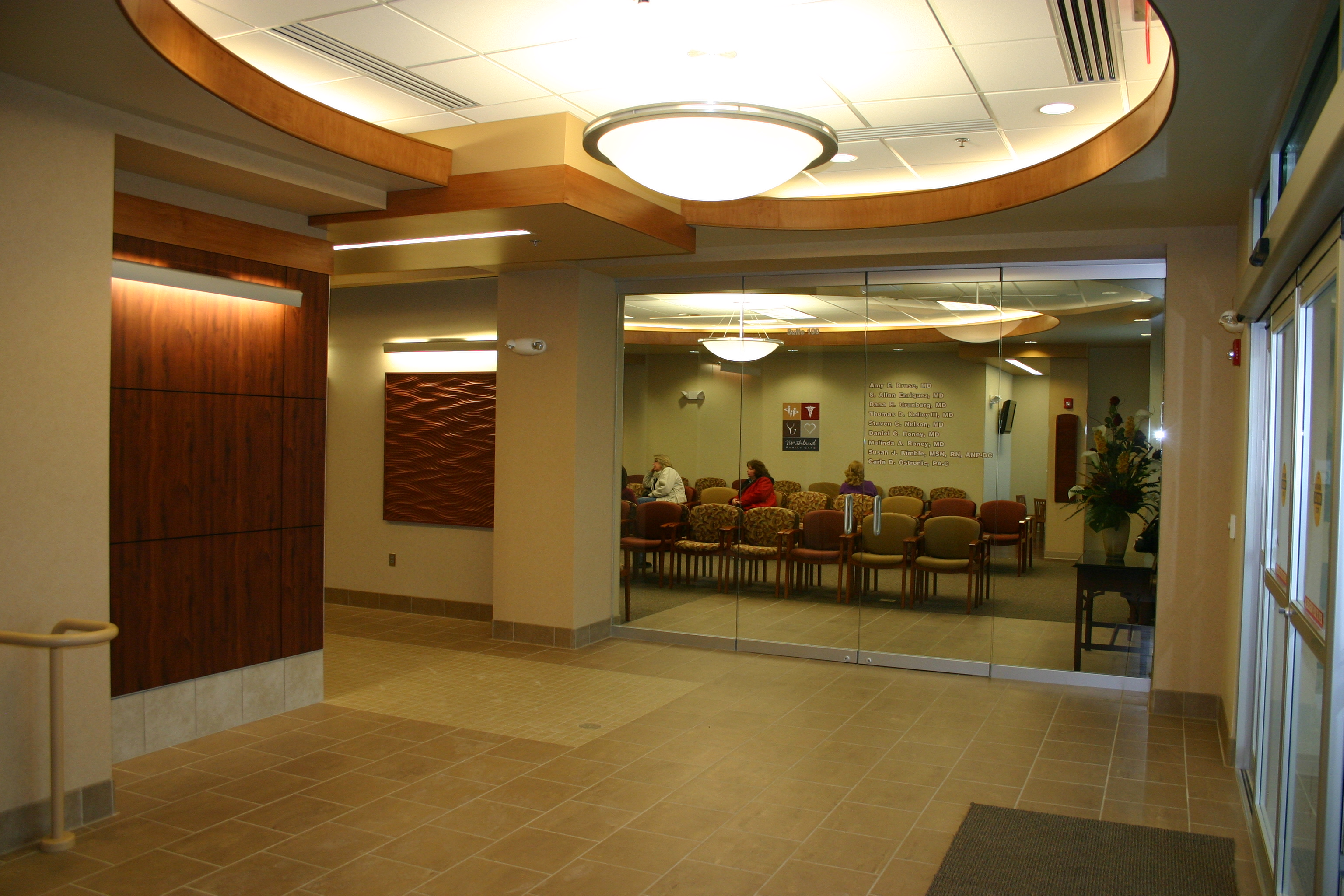 First Floor Interior Lobby