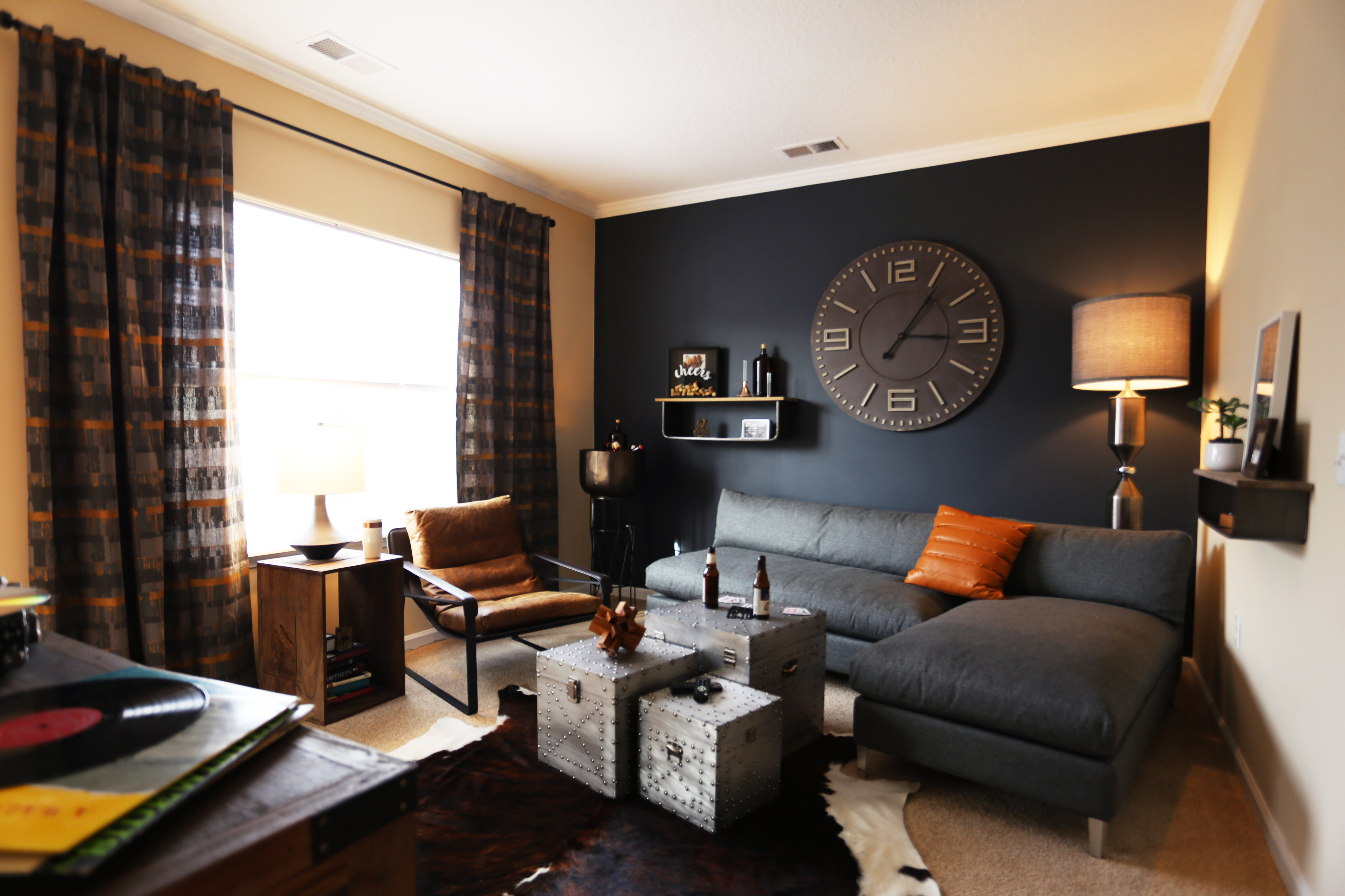 Meridian - Staged Model Unit - Living Room