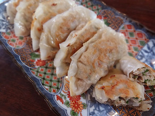 ゴーヤーと高野豆腐の餃子
