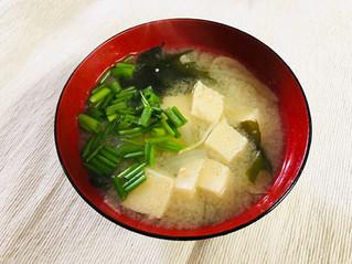 凍り豆腐の味噌汁