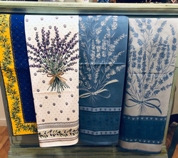 Kitchen towels, made in Provence