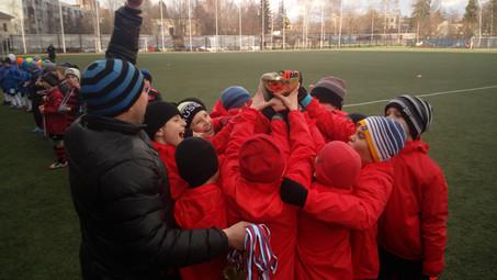 Наша команда выиграла ежегодный турнир посвященный дню Космонавтики.