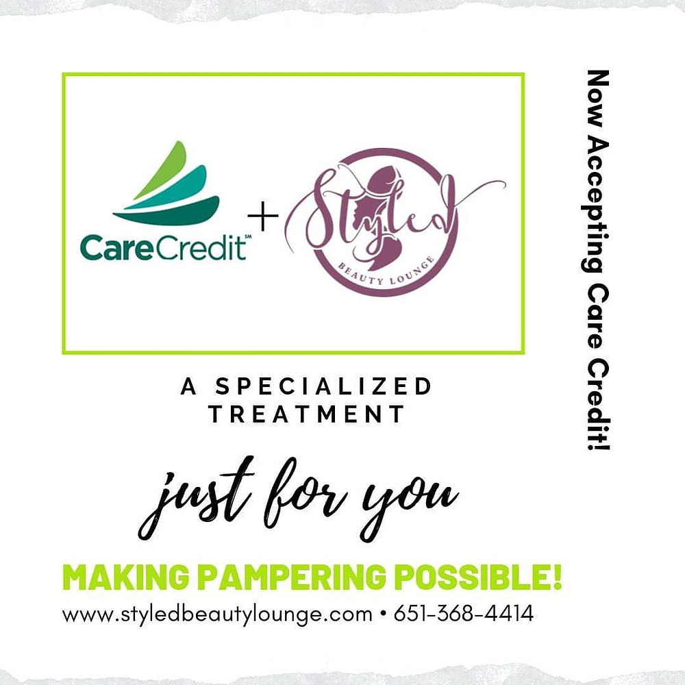 Psssst!!! We are now accepting Care Credit!